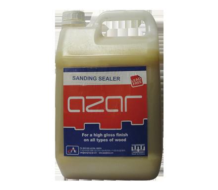azar sanding sealer